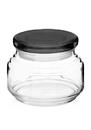 Blank 8oz Arc Flat Lid Elevation Candy Jars, Glass, 4.35