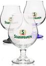 Custom Libbey 16 oz. Belgian Beer Glasses, 2 3/4