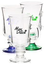 Custom 8.5oz Libbey Irish Coffee Mugs, Glass, 4.1