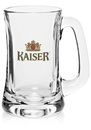 Custom Libbey 15 oz. Scandinavia Mugs, Glass, 3 3/8