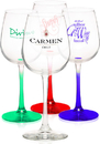 Custom 12.75oz Libbey Vina Wine Taster Glasses, 3.375
