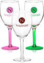 Custom 8oz Libbey Citation Wine Glasses, 2.75