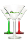 Custom A8485 8.5 oz. Libbey Salud Grande Wedding Martini Glasses, 4.75