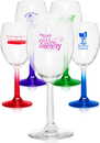 Custom 7.75 oz. Libbey Country Wine Glasses, 2.5
