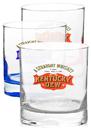 Custom 11oz Libbey Presidential Finedge Whiskey Glasses, 3 1/4