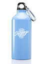 20oz Custom Aluminum Water Bottles Bottle Top and Carabiner May Not Come Assembled, Aluminum, 8