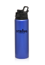 Custom 25 oz. Aluminum Metallic Sports Bottles, Aluminum, 10