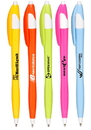 Custom Derby Tropical Ballpoint Pens, Plastic, 0.65