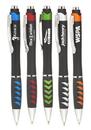 Custom Racetrack Cheap Ballpoint Promotional Pens, Plastic, 5.5