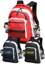 Custom Travelers Multi-Pocket Backpacks, 600D Polyester, 20