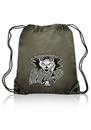 Custom Classic Nylon Drawstring Bags, 210D Nylon, 14