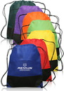 Custom Non-Woven Two-Tone Drawstring Sports Pack, 80Gsm Non-Woven Polypropylene, 14