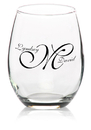 Custom 9oz. Arc Perfection Stemless Wine Glasses, 2.25
