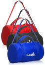 Custom Sporty Duffel Bags, 210D Polyester, 17