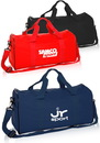 Blank Fitness Duffel Bags, 600D Polyester, 19