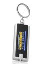 Custom Square Light Key Chain, Plastic, 2.375