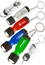 Ez Twist Screwdriverflash Light Key Chain, Plastic, 3