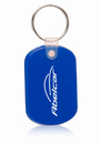 Custom Square Shape Soft Keychain, Plastic, 2.2