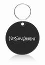 Custom Round Soft Key Tag, Plastic, 1.85