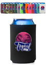 Custom Neoprene Collapsible Can Coolers, 3mm Neoprene, Fits 12oz Cans