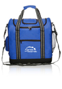 Custom Flip Flap Insulated Kooler Bag, 70D Nylon + 600D Polyester Bottom, 14