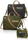 Custom Executive Messenger Bag, 600D Polyester W/ Leatherette Trim, 14