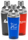 Custom 13.5 oz. Cocktail Shakers, Plastic Exterior, Stainless Steel Interior
