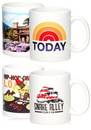 Custom 11oz Photo Mugs, Stoneware, 4.75