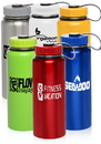 Custom 34oz Stainless Steel Sports Bottles, Stainless Steel, 3