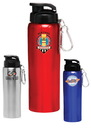 Custom 27 oz. Sicilia Stainless Steel Sports Bottle, Stainless Steel, 9 1/2
