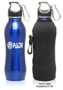 Custom 25 oz. Stainless Steel Colored Bottles, Stainless Steel, 2.75