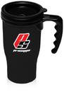 Custom 14 oz Insulated Travel Mugs, Plastic Exterior / Plastic Interior