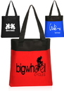 Custom Deluxe Tote Bag, 600 Denier Polyester Canvas, 14