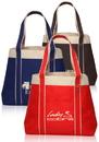 Custom Donna Tote Bags, Tough 600 Denier Polyester, 16.25