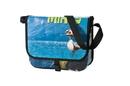 Custom BC352 Grinder Recycled Banner Messenger Bag, 13.5