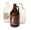 Custom GG64C Rambler 64oz Glass Beer Growler Clear, 4.75