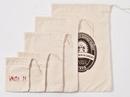 Custom HWC680 Heavy Weight Natural Cotton Drawstring Bag, 6