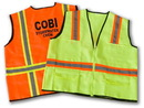 Custom ISV1015 Construction Deluxe Safety Vest
