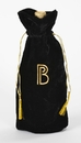 Custom IV613 Velvet Wine Drawstring Bag, 6