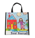 Custom TB1410 Marquee Recycled Banner Tote Bag, 14