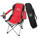 Blank B4049 Three Position Adjustable Chair In A Bag, 600D Polyester With Mesh Accents, 27