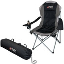 Blank B4878 Folding Chair In A Bag, 600D Polyester With Mesh Accents, 23.5