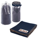 Blank B5772 Travel Blanket, Frosted Pvc Bag With Drawstring Closure And Stopper, 50