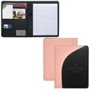 Custom BL4061-C Notebook Padfolio, Bonded Leather, 9.75
