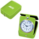 Custom CL4475 Travel Alarm Clock, Pvc Travel Alarm Clock With Second Hand, 3
