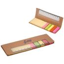 Custom DA8344 300 Sticky Notes With Ruler, Cardboard Sticky Note Holder With Pp Ruler, 6.25