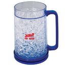 Blank DA8439 400 Ml. (13.5 Oz.) Frosty Mug, Double Walled Acrylic Freezer Mug, 6.125