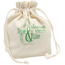 Blank E3616 Lunch Bag, 8 Ounce Cotton, 9.5