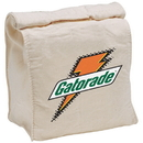 Blank E3617N Cotton Lunch Bag - Natural, 10 Ounce Cotton, 6.5
