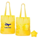 Custom F8109 Folding Star Tote, Lightweight 190T Polyester, 15